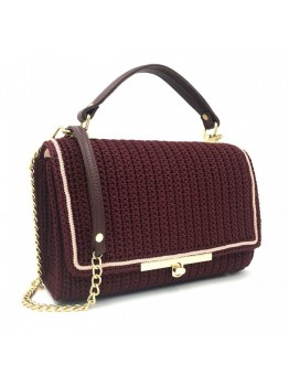 Geanta Duccessa Chic Bordo