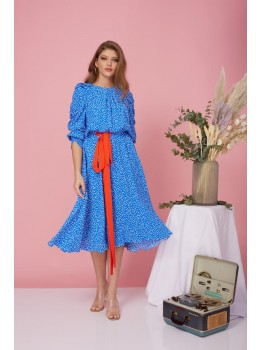 Rochie Blue Hearted