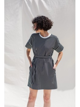 Rochie monocrom in dungi