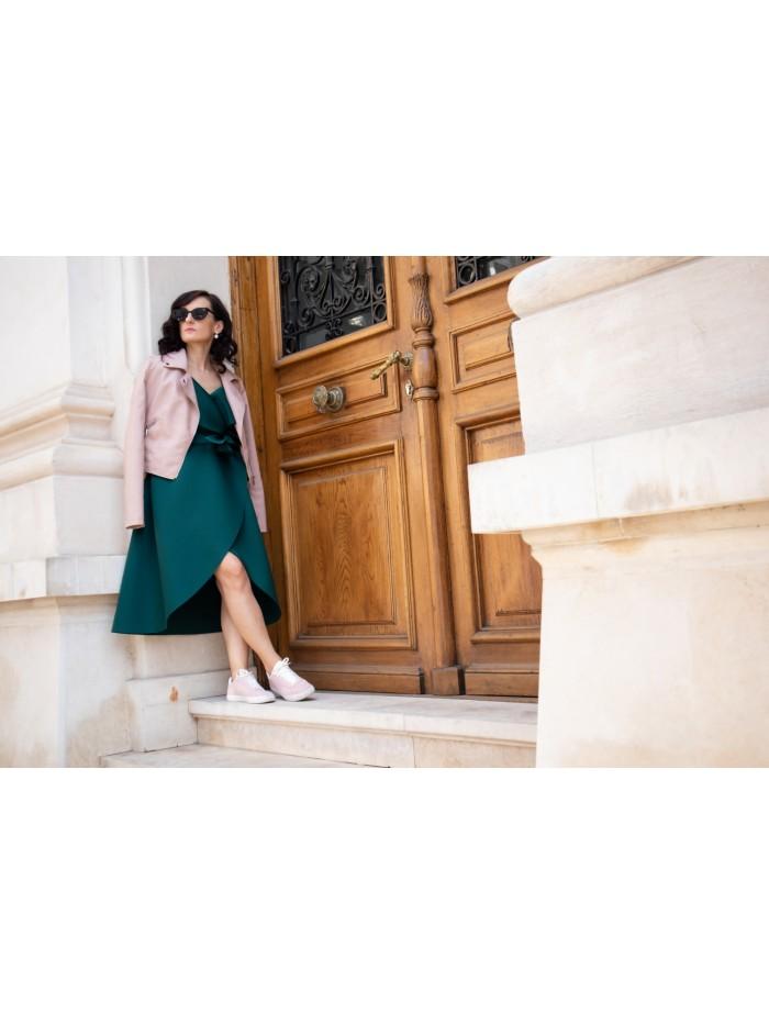 Rochie vesta Gia - smarald