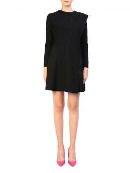 Rochie neagra minimalista