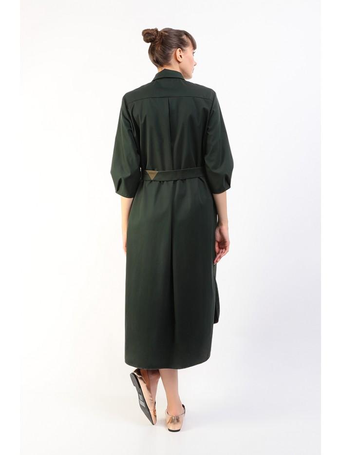 Rochie supradimensionata verde